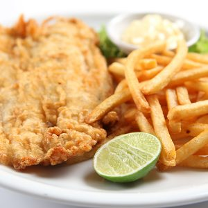 Fish and Chips <br> Wednesday Special