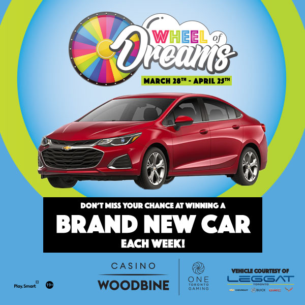 Don't Miss You Chance at Winning a BRAND NEW CAR on THURSDAYS