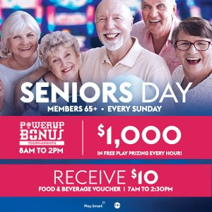 Seniors Day <br> Every Sunday