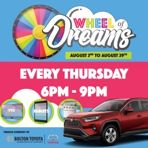 Wheel Of Dreams <br> August 2-29