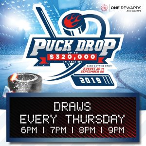 Puck Drop <br> Every Thursday