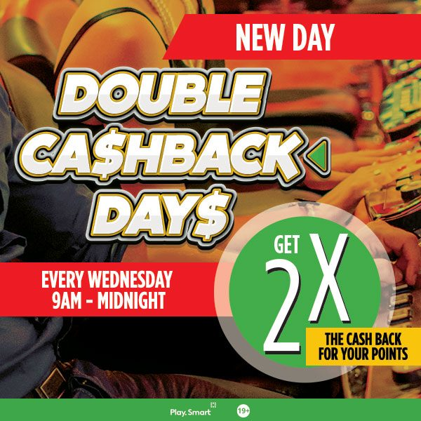 2x Cashback Wednesdays