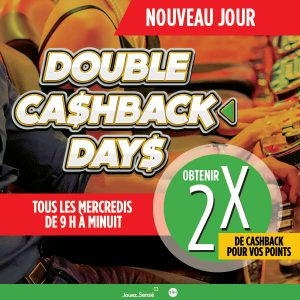 Double Cashback Days